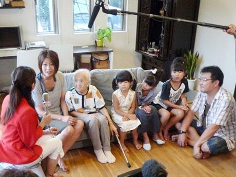 8月10日 SBSテレビ① マイホームばんざい! 102歳のおばあちゃんと暮らす家