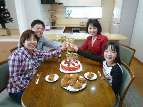 12月24日 マイホームにかんぱ~い♪② ネコちゃんと共に暮らす5LDKの明るい家